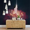 baratos Luzes de Parede de Exterior-papel de parede / Mural / Pano de parede Tela de pintura Revestimento de paredes - adesivo necessário Art Deco / 3D / Anjo