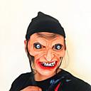 billiga Masker-Cosplay Kostymer / Dräkter Mask Halloween-mask Inspirerad av häxa Skräckfilm Svart Cosplay Halloween Halloween Karnival Maskerad Vuxna Herr Dam