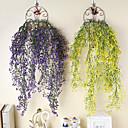 baratos Plantas Artificiais-Flores artificiais 1 Ramo Clássico Contemporâneo Moderno Europeu Plantas Flores eternas Guirlandas & Flor de Parede