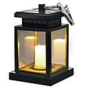 ราคาถูก ไฟติดผนังภายนอก-1pc 0.5 W โคมไฟติดผนังพลังงานแสงอาทิตย์ พลังงานแสงอาทิตย์ / Color Gradient ขาวนวล 3.7 V ลาน / สวน 1 ลูกปัด LED