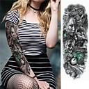 billiga tatuering klistermärken-3 pcs tillfälliga tatueringar Miljövänlig / Engångsvara Kropp / brachium / tillbaka Kortpapper