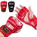 Χαμηλού Κόστους Γάντια του μποξ-Γάντια για σάκο του μποξ Επαγγελματικά γάντια του μποξ Γάντια προπόνησης μποξ Για Τάε Κβον Ντο Πολεμικές τέχνες Μεικτές Πολεμικές Τέχνες Πάλη Χωρίς Δάχτυλα Προστατευτικό PU Άντρες Γυναικεία -