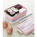 baratos Frascos e Caixas-caixa de almoço de microondas recipiente de armazenamento de alimentos de louça de palha de trigo
