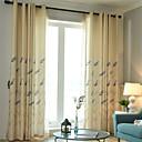 billiga Gardiner och draperier-Nutida Blackout En panel Gardin Vardagsrum   Curtains