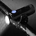 ราคาถูก เทคนิคมายากล-นาฬิกา LED ไฟจักรยาน ไฟ LED ไฟหน้าจักรยาน Bike Headlight XP-G2 ขี่จักรยานปีนเขา จักรยาน จักรยาน Waterproof เคลื่อนที่ Easy to Install ทนทาน ลิเธียมไอออน 500 lm สามารถเก็บได้ ขาวเย็น / IPX 6