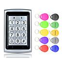 Χαμηλού Κόστους Smart Switch-5YOA B02-10KeyTK4100 Σύστημα ελέγχου πρόσβασης / Πληκτρολόγιο ελέγχου πρόσβασης RFID Κωδικός πρόσβασης / Κάρτα Ταυτότητας Αρχική / Διαμέρισμα / Σχολείο