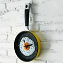 olcso Fali órák-falióra elegáns egyedi sült tojás serpenyő alakú aranyos óra