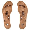 ราคาถูก ผมต่อแท้-1 คู่ Improving Sleep / ลดความเครียด พื้นรอง รองเท้า เจลซิลิก้า รองเท้าทั้งหมด ทุกฤดู ทุกเพศ สีน้ำตาล
