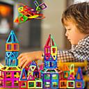 ราคาถูก บล็อกตัวต่อแม่เหล็ก-บล็อกแม่เหล็ก แผ่นแม่เหล็ก ของเล่นแม่เหล็ก 30-199 pcs ที่เข้ากันได้ Legoing Magnetic เด็กผู้ชาย เด็กผู้หญิง ทารก Toy ของขวัญ / Building Blocks