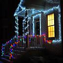 ราคาถูก สายไฟ LED-10เมตร ไฟสาย 100 ไฟ LED ขาวนวล / RGB / White Waterproof / Creative / ปาร์ตี้ 220-240 V 1pc