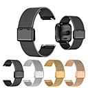 billige Smartwatch Bands-Klokkerem til Fitbit Versa Fitbit Klassisk spenne Metall / Rustfritt stål Håndleddsrem