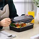 baratos Frascos e Caixas-piquenique portátil de aço inoxidável da caixa de almoço com caixa térmica do bento dos microwavable dos compartimentos