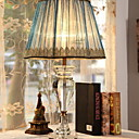 זול מנורות שולחן-פשוט דקורטיבי מנורת שולחן עבור חדר שינה קריסטל 220V