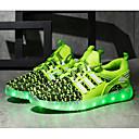 Χαμηλού Κόστους LED Παπούτσια-Αγορίστικα LED / Ανατομικό / Φωτιζόμενα παπούτσια Ύφασμα Αθλητικά Παπούτσια Τα μικρά παιδιά (4-7ys) / Μεγάλα παιδιά (7 ετών +) LED Μαύρο / Κόκκινο / Ροζ Άνοιξη / Φθινόπωρο