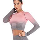 ราคาถูก เสื้อผ้ากีฬา-ชุดทำงาน เสื้อ / Yoga สำหรับผู้หญิง การฝึกอบรม / Performance ไนลอน / Elastane / polyster ข้อต่อ เสื้อไม่มีแขน Top