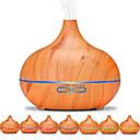 ราคาถูก เครื่องทำความชื้น-Aroma Diffuser Aromatherapy machine PP ไม้