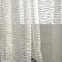 ราคาถูก ฝักบัวแบบสายฝน-ร่วมสมัย Sheer หนึ่งช่อง Sheer ห้องนั่งเล่น   Curtains / วิธีลงลวดลายลงในเนื้อผ้า