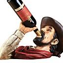 ราคาถูก เสื่อ&พรม-1pc พลาสติกและโลหะ ที่วางขวดไวน์ ที่วางขวดไวน์ ไวน์ อุปกรณ์ สำหรับ barware