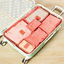זול תיקי טיולים-ארגונית נסיעות למזוודה / ערכת טיולים קיבולת גבוהה / נייד / עמיד לאבק ל רשת / ניילון 37.5*27*12 cm כל / יוניסקס לטייל / נסיעות / תיק אביזרים / תיק לנעליים / שקית ארגונית גדולה / תיק שירותים