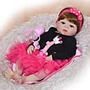 Χαμηλού Κόστους Κούκλες σαν αληθινές-FeelWind Κούκλες σαν αληθινές Μωρά Αγόρια Μωρά Κορίτσια 22 inch Σιλικόνη πλήρους σώματος Σιλικόνη - Παιδικό / Εφηβικό Λατρευτός Lovely Παιδικά Γιούνισεξ Παιχνίδια Δώρο