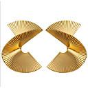 Χαμηλού Κόστους Μοδάτα Σκουλαρίκια-Γυναικεία Κρεμαστά Σκουλαρίκια Πεπαλαιωμένο Στυλ Flower Shape Στυλάτο Σκουλαρίκια Κοσμήματα Χρυσό Για Καθημερινά Αργίες 1 Pair