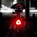 baratos Luzes de Bicicleta & Refletores-LED Luzes de Bicicleta Luz Traseira Para Bicicleta LED Ciclismo de Montanha Moto Ciclismo Indução inteligente Indução Automática de Freio Li-polímero 20 lm Bateria Recarregável Branco Campismo