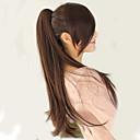 Χαμηλού Κόστους Εξτένσιον με Μικρούς Κρίκους-Κλιπ Μέσα / Πάνω Εξτένσιον από Ανθρώπινη Τρίχα επέκταση Φυσικά μαλλιά Κομμάτι μαλλιών Hair Extension Ίσιο 22 ίντσες (περ. 56εκ) Πάρτι / Βράδυ