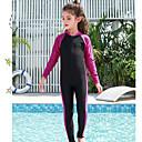 povoljno Mokra odijela i majice za kupanje-JIAAO Dječaci Djevojčice Ronilačko odijelo kože Ronilačka odijela Ugrijati Kompletna maska Prednji Zipper - Plivanje Ronjenje Kolaž Ljeto / Visoka elastičnost / Dječji