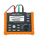 ราคาถูก กล่องเก็บเครื่องสำอางและเครื่องประดับ-Peakmeter pm2302 ดิจิตอลพื้นดินโลกต้านทานแรงดันไฟฟ้า tester เมตร 0 โอห์มถึง 4 พันโอห์ม 100 กลุ่มการบันทึกข้อมูลที่มีแสงไฟ
