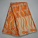 ราคาถูก African Lace-ลูกไม้แอฟริกัน สไตล์พื้นบ้าน Pattern 120 cm ความกว้าง ผ้า สำหรับ เครื่องแต่งกายและแฟชั่น ขาย โดย 5Yard