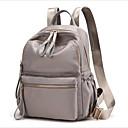 Χαμηλού Κόστους Σχολικές τσάντες-Οξφόρδη Φερμουάρ Σχολική τσάντα Καθημερινά Μαύρο / Γκρίζο