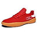 Χαμηλού Κόστους Αντρικά Αθλητικά-Ανδρικά Βουλκανισμένα παπούτσια Πανί Άνοιξη / Φθινόπωρο Καθημερινό Αθλητικά Παπούτσια Περπάτημα Μη ολίσθηση Λευκό / Μαύρο / Κόκκινο