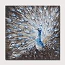 ราคาถูก ภาพวาดแอบสแตรก-ภาพวาดสีน้ำมันแขวนทาสี มือวาด - แอ็ปสแต็ก งานศิลปะป๊อป คลาสสิก ที่ทันสมัย โดยไม่ต้องภายในกรอบ