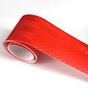 billige Automotive Kroppsdekorasjon og beskyttelse-rød fluorescerende reflekterende klistremerke 5cm x 5meter bilbil motorsykkel conspicuity tape bil lysstripe