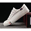 povoljno Muške tenisice-Muškarci Udobne cipele Platno Proljeće Sneakers Obala / Crn / Plava