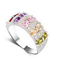 ราคาถูก แหวนผู้ชาย-สำหรับผู้หญิง วงแหวน 1pc สีเงิน โลหะผสม คลาสสิก ทุกวัน ทำงาน เครื่องประดับ คลาสสิค