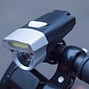 ราคาถูก ไฟจักรยานและไฟสะท้อน-นาฬิกา LED ไฟจักรยาน ไฟหน้าจักรยาน Bike Headlight LED ขี่จักรยานปีนเขา จักรยาน จักรยาน Waterproof Safety ดีไซน์มาใหม่ มุมกว้าง ลิเธียมโพลิเมอร์ 245 lm Built-in แหล่งจ่ายไฟ White
