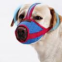 ราคาถูก ปลอกคอ สายจูง สายรัดสำหรับสุนัข-สุนัข Muzzles Portable มินิ Trainer สีพื้น ตาข่าย แดง ชิบะอินุ ปั๊ก Bichon Frise ปักกิ่ง ชิสุ พุดเดิ้ล
