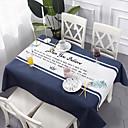זול כיסויי שולחן-עכשווי קלסי כותנה סיבי פוליאסטר ריבוע Cube כיסויי שולחן מפות שולחן פרחוני מעוטר מדפיס ידידותי לסביבה עמיד במים פרח לוח קישוטים