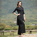 ราคาถูก เสื้อผ้ากีฬา-ชุดทำงาน Outfits / Yoga สำหรับผู้หญิง Performance Modal กระโปรงระบาย ครึ่งแขน Top / กางเกง