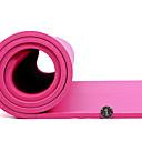 billige Treningsutstyr og tilbehør-Treningsmatter Gym mat 4 tommer (ca. 10cm) Diameter Elastisk Vanntett materiale Vannavvisende Yoga & Danse Sko Treningsøkt Dans Til Alle