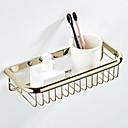 זול מחזיקי נייר טואלט-מדף האמבטיה יצירתי פליז 1pc - חדר אמבטיה יחיד רכוב