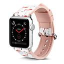 ราคาถูก รองเท้าบูตผู้หญิง-สายนาฬิกา สำหรับ Apple Watch Series 5/4/3/2/1 Apple หัวกลัดแบบคลาสสิก หนังแท้ สายห้อยข้อมือ