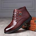 ราคาถูก รองเท้าบูตผู้ชาย-สำหรับผู้ชาย Fashion Boots PU ฤดูใบไม้ร่วง & ฤดูหนาว บูท รองเท้าบู้ทหุ้มข้อ สีดำ / กาแฟ / สีน้ำตาล