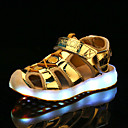 ราคาถูก รองเท้าแตะเด็ก-เด็กผู้ชาย / เด็กผู้หญิง Light Up รองเท้า PU รองเท้าแตะ เด็กวัยหัดเดิน (9m-4ys) / เด็กน้อย (4-7ys) / Big Kids (7 ปี +) วสำหรับเดิน LED สีเงิน / ฟ้า / สีชมพู ฤดูใบไม้ผลิ / ตก / ยาง