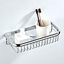 זול מחזיקי נייר טואלט-צדף לחדר האמבטיה יצירתי מודרני פליז 1pc - חדר אמבטיה יחיד מותקן על הקיר