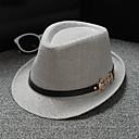 ราคาถูก เครื่องประดับผมสำหรับงานปาร์ตี้-ผ้าลินิน / ผ้าฝ้ายผสม หมวก / เครื่องประดับศรีษะ กับ ไม่มีลาย 1 ชิ้น สวมใส่ทุกวัน / กลางแจ้ง หูฟัง