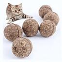 billige Katteleker-Ball Katteurt Katter Kæledyr Leketøy 1pc Dyrevennlig Kattemynte Gave