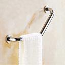 baratos Prateleiras de Banheiro-Barra de Apoio Novo Design / Multifunções Moderna / Modern Aço Inoxidável 1pç - Banheiro / Banho do hotel 1 barra de toalha Montagem de Parede