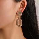 ราคาถูก เข็มกลัด-สำหรับผู้หญิง Drop Earrings สไตล์วินเทจ หล่น วินเทจ Punk อินเทรนด์ ต่างหู เครื่องประดับ สีทอง / สีเงิน / Rose Gold สำหรับ ของขวัญ ทุกวัน เทศกาลคานาวาล คลับ 1 คู่